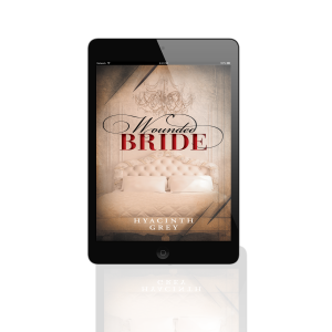 Wounded Bride by Hyacinth Grey iPad 3D Mockup